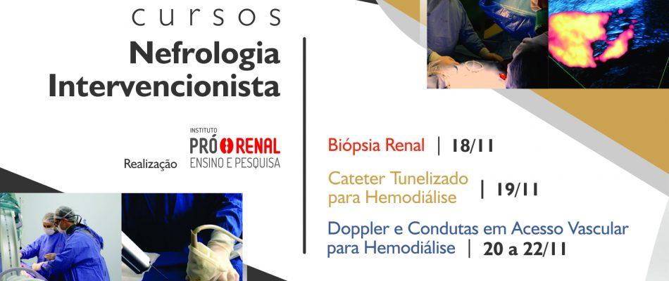 Cursos Nefrologia Intervencionista   Fundação Pró-Renal